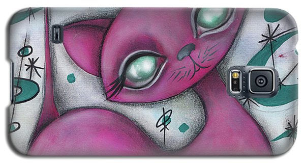 Jane Cat Galaxy S5 Case by Abril Andrade Griffith