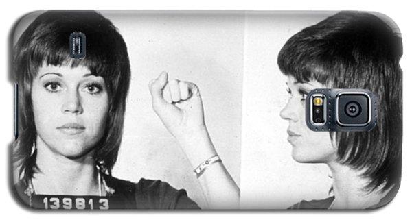 Jane Fonda Mug Shot Horizontal Galaxy S5 Case