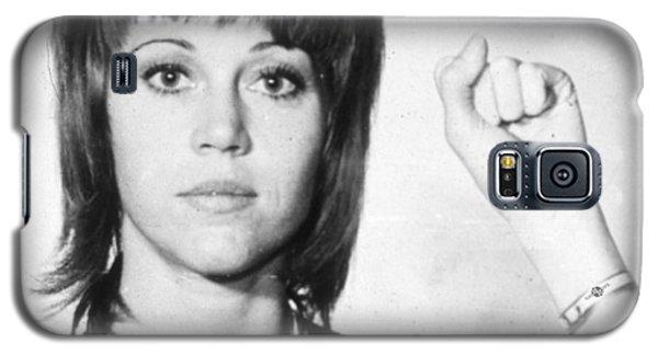 Jane Fonda Mug Shot Vertical Galaxy S5 Case