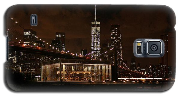 Jane's Carousel  Galaxy S5 Case by Karen Silvestri