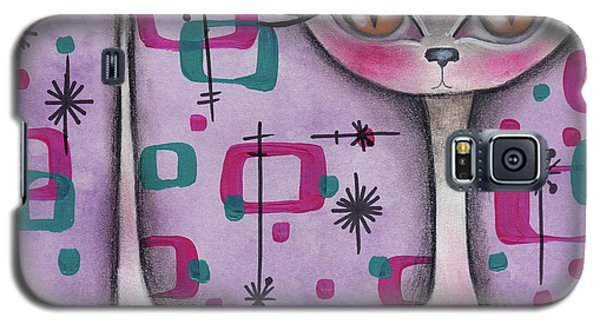 Janice Cat Galaxy S5 Case by Abril Andrade Griffith