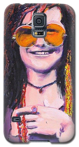 Janis Joplin 2 Galaxy S5 Case by Eric Dee