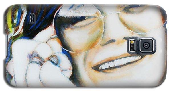 Janis Joplin Pop Art Portrait Galaxy S5 Case