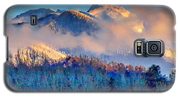 January Evening Truchas Peak Galaxy S5 Case by Anastasia Savage Ealy