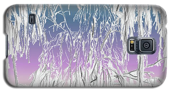January Hoarfrost Galaxy S5 Case
