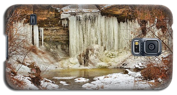 January Melt At Wequiock Falls  Galaxy S5 Case