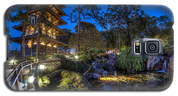 Japan Epcot Pavilion By Night. Galaxy S5 Case