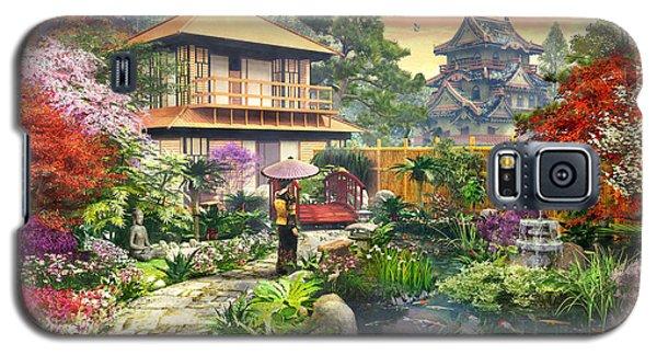 Japan Garden Variant 2 Galaxy S5 Case by Dominic Davison