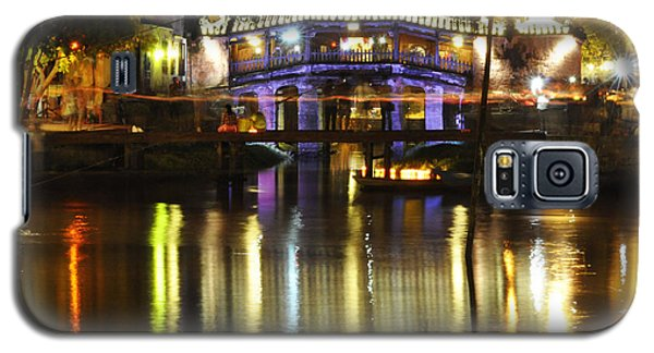 Galaxy S5 Case featuring the photograph Japanese Covered Bridge by Rob Hemphill