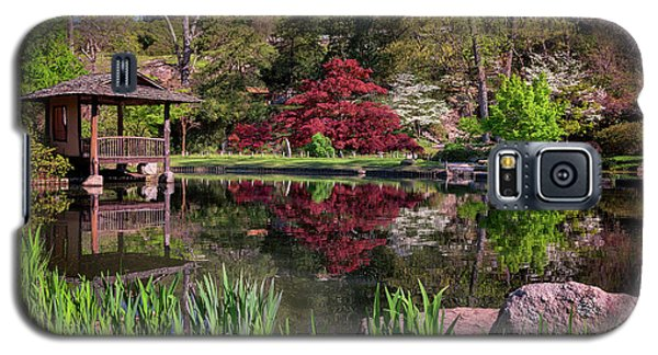 Japanese Garden At Maymont Galaxy S5 Case by Rick Berk