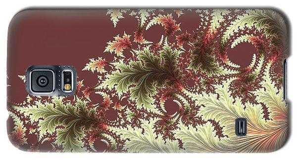 Galaxy S5 Case featuring the digital art Japanese Garden Il by Susan Maxwell Schmidt