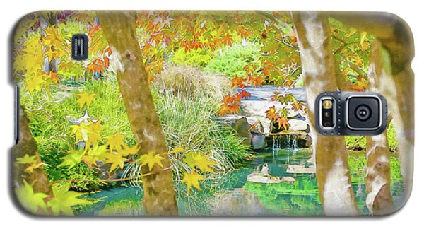Japanese Garden Pond Galaxy S5 Case