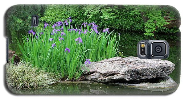 Japanese Gardens - Spring 02 Galaxy S5 Case by Pamela Critchlow