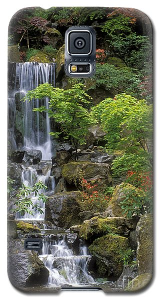 Japanese Garden Waterfall Galaxy S5 Case