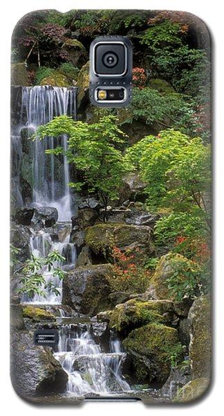 Japanese Garden Waterfall Galaxy S5 Case