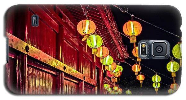 Japanese Lanterns 10 Galaxy S5 Case