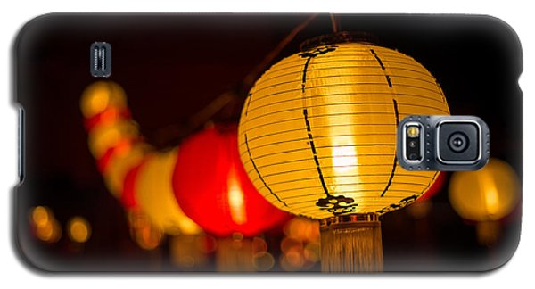 Japanese Lanterns 3 Galaxy S5 Case