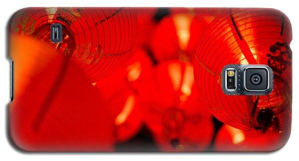 Japanese Lanterns 6 Galaxy S5 Case