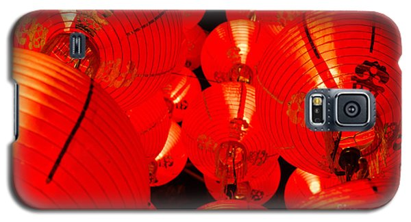 Japanese Lanterns 7 Galaxy S5 Case