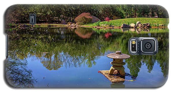 Japanese Reflections At Maymont Galaxy S5 Case by Rick Berk