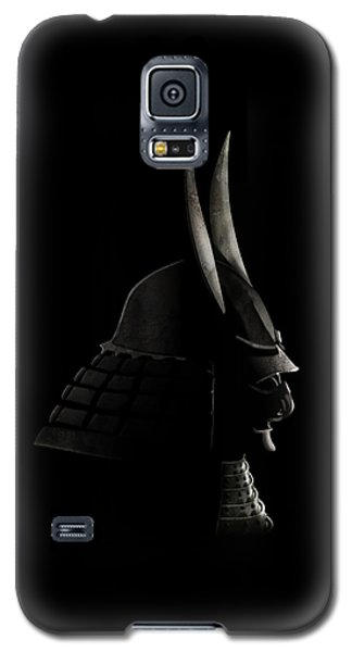 Japanese Samurai Helmet Galaxy S5 Case by John Wills