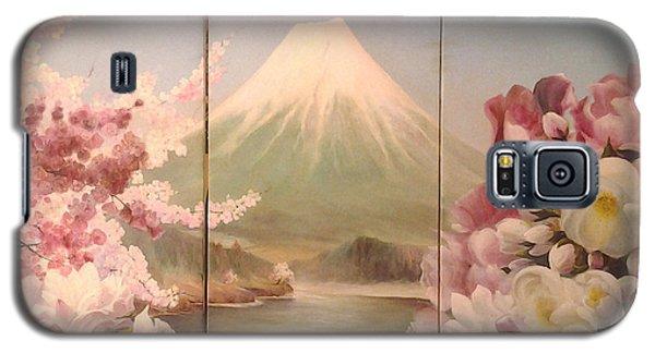 Japanese Spring Galaxy S5 Case by Sorin Apostolescu
