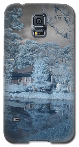 Galaxy S5 Case featuring the photograph Japanese Tea Garden Infrared Right by Joshua House