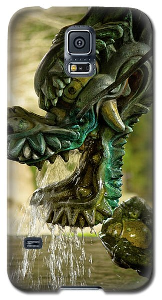Japanese Water Dragon Galaxy S5 Case by Sebastian Musial