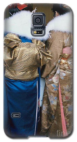 Japanese Women In Kimono Photography - Two Bijin Galaxy S5 Case