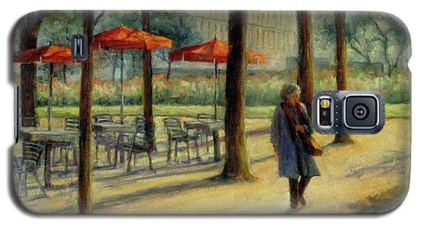 Jardin Des Tuileries In October Galaxy S5 Case