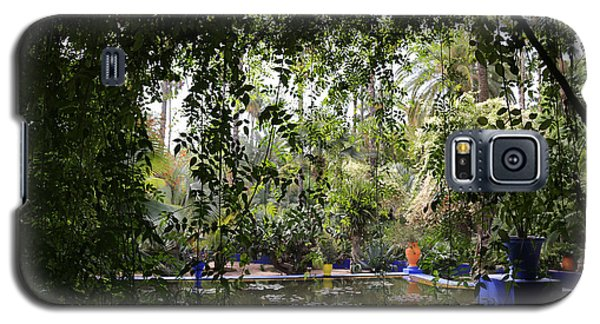 Galaxy S5 Case featuring the photograph Jardin Majorelle 2 by Andrew Fare