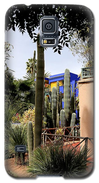 Galaxy S5 Case featuring the photograph Jardin Majorelle 4 by Andrew Fare