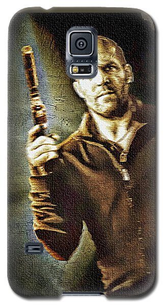 Jason Statham - Actor Painting Galaxy S5 Case