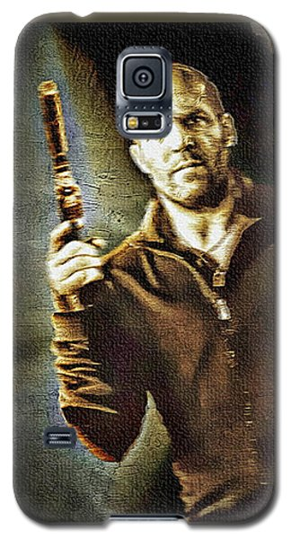 Jason Statham - Actor Painting Galaxy S5 Case