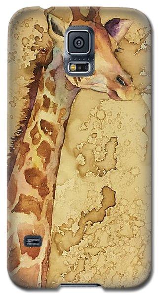 Java Giraffe Galaxy S5 Case