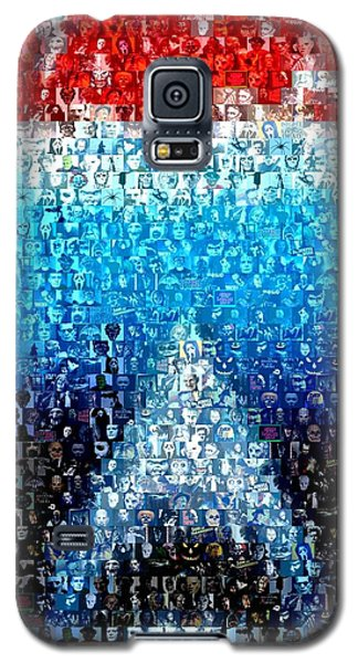Jaws Horror Mosaic Galaxy S5 Case