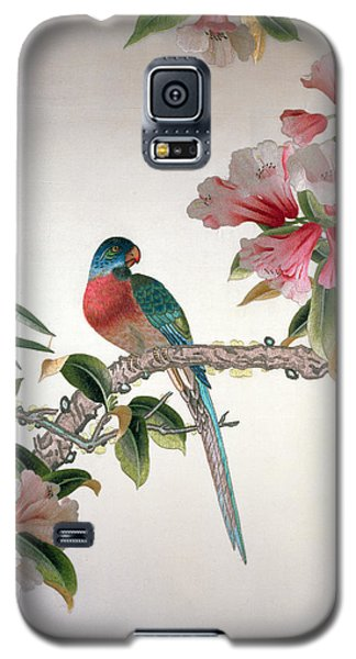 Jay On A Flowering Branch Galaxy S5 Case by Chinese School