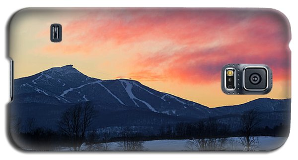 Jay Peak Winter Twilight Galaxy S5 Case