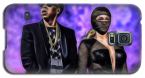 Jay Z And Beyonce Collection Galaxy S5 Case by Marvin Blaine