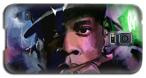 Galaxy S5 Case featuring the painting Jay Z by Richard Day