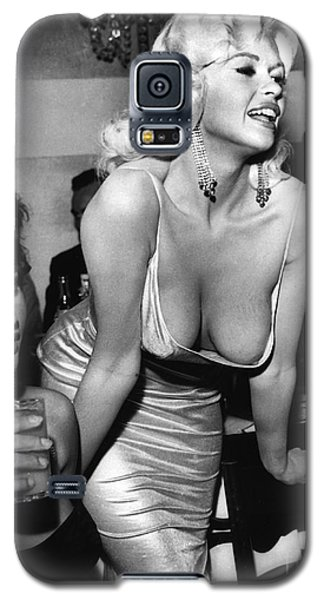 Jayne Mansfield Hollywood Actress And, Italian Actress Sophia Loren 1957 Galaxy S5 Case