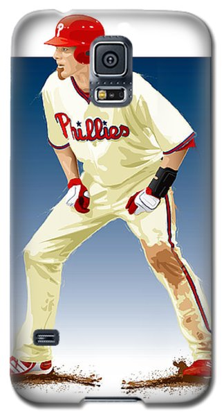 Galaxy S5 Case featuring the digital art Jayson Werth by Scott Weigner