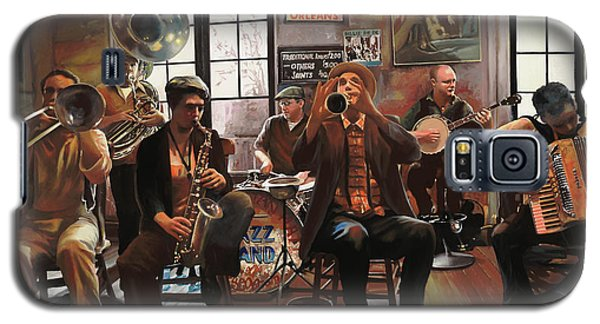 Drum Galaxy S5 Case - Jazz A 7 by Guido Borelli