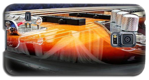 Guitar Galaxy S5 Case - Jazz Bass Beauty by Todd Blanchard