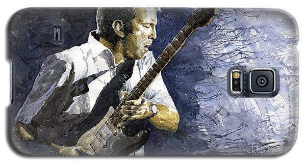 Portret Galaxy S5 Case - Jazz Eric Clapton 1 by Yuriy Shevchuk