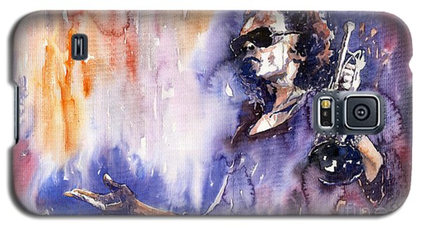 Jazz Miles Davis 14 Galaxy S5 Case by Yuriy  Shevchuk