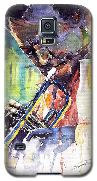 Jazz Miles Davis 9 Blue Galaxy S5 Case