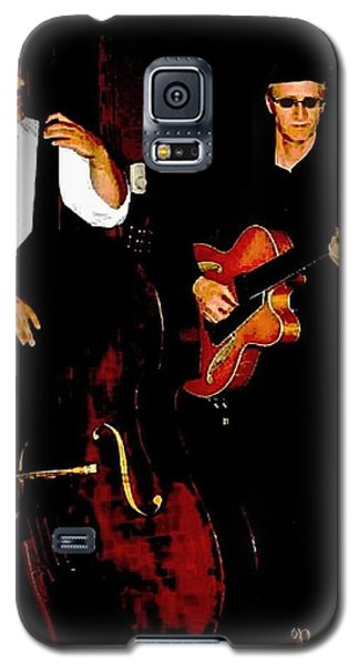 Jazz Musicians Galaxy S5 Case by Sadie Reneau