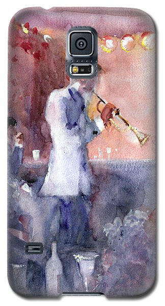 Jazz Nights Galaxy S5 Case by Faruk Koksal