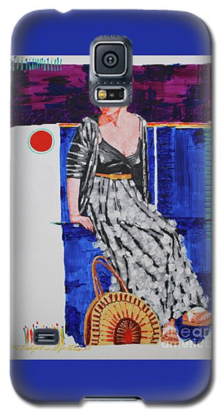 Jazz On The Square Galaxy S5 Case